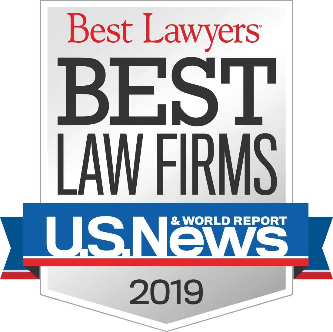 2019 Best Law Firms, U.S. News & World Report